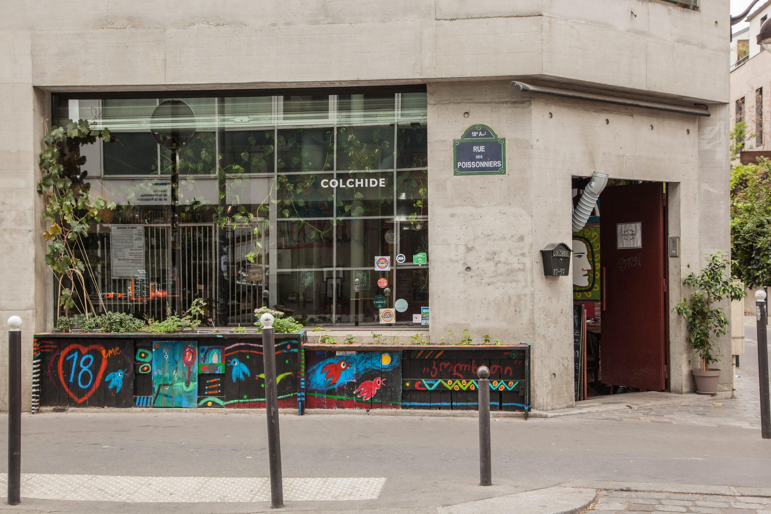 Colchide rue des poissonniers