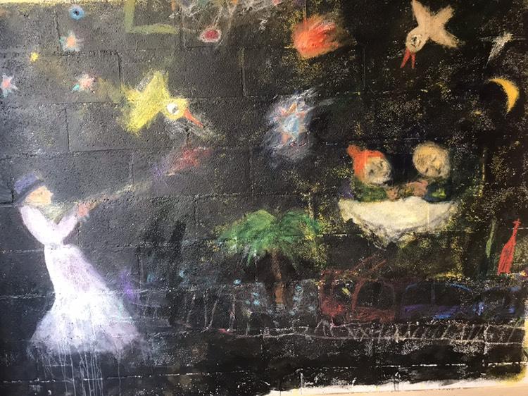 Artist contemporain géorgien Anri Basilaia